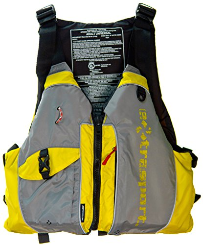 Jackets Extrasport Life (Extrasport Elevate Life Jacket, Sunflower/Grey, Universal)