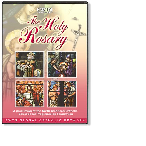 THE HOLY ROSARY IN STAINED GLASS: EWTN 1-DISC - Ri In Stores Providence