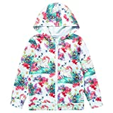 Liliane Coats for Girls Jackets for Girls Girl Jacket 4t Jacket 5t Unicorn 4t Unicorn Zip Hoodie Girls Kid Jacket(A040, 4-5Years)