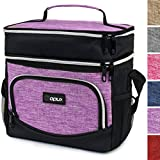 OPUX Premium Thermal Insulated Dual Compartment Lunch Bag for...