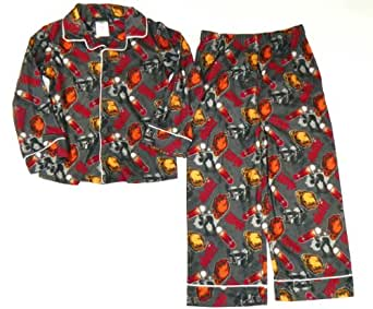 Boy's Joe Boxer Skater Flannel Pajama Set (14/16)