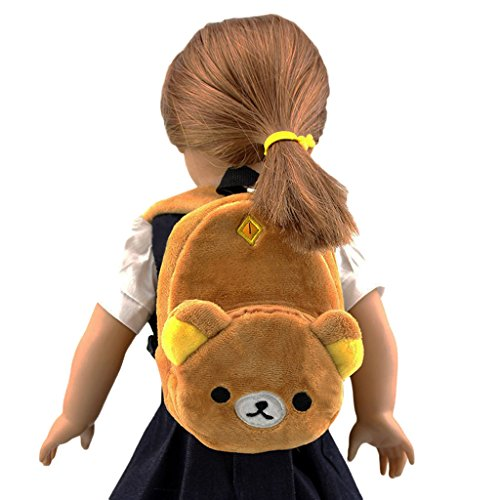 Wesen Doll accessories for 18 Inch Dolls The Little bear doll backpack Fits American Girl Dolls from wesen