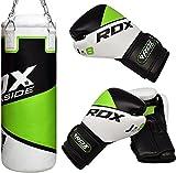 RDX Kids Punching Bag UNFILLED Set Junior Kick