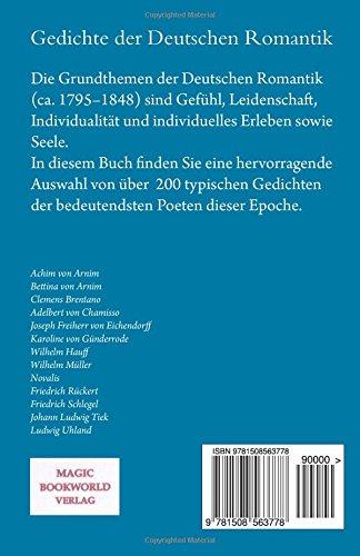 Gedichte Der Deutschen Romantik German Edition Achim Von