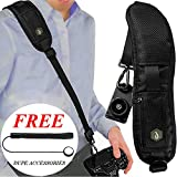Dupe Accessories Camera Strap Perfect for All Camera Types: DSLR | SLR | Nikon | Canon | Olympus | Extra Long Adjustable Shoulder | Neck Sling (Shoulder Strap)