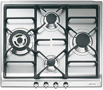 Smeg SR60GHU3 - Cubierta de cocina clásica de gas de 61 ...