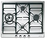 Smeg SR60GHU3 24' Classic Gas Cooktop, 4 Gas Burners, Stainless Steel