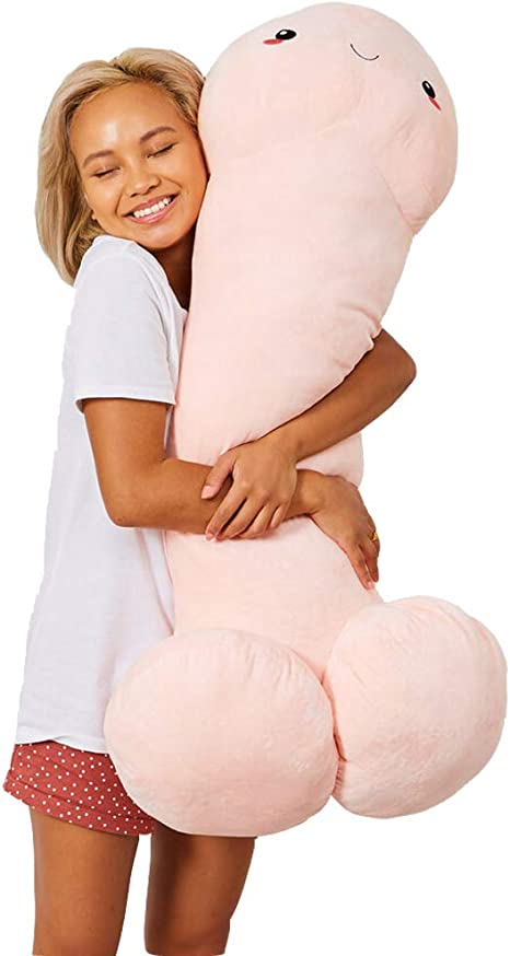 Lovely Penis Ding Ding Soft Pillow Stuffed Plush Doll Toy Creative Bolster 2020