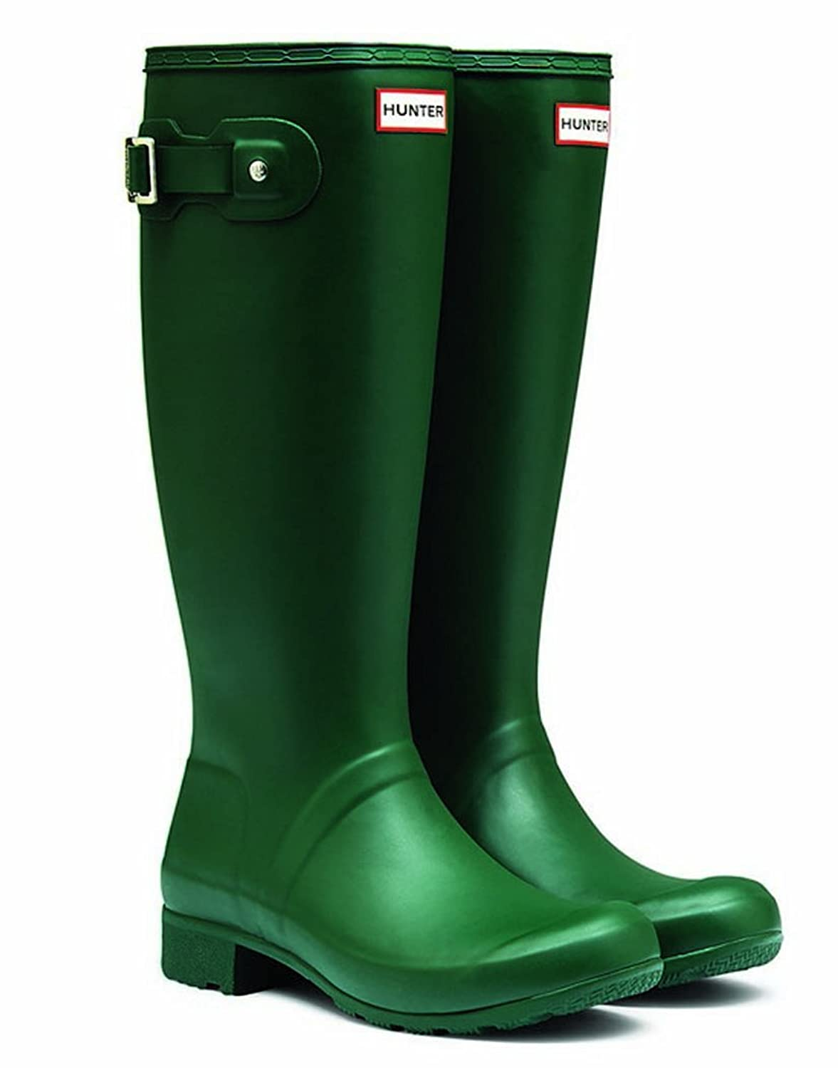 Hunter Original Tour Hunter Green Women's Rain Boots