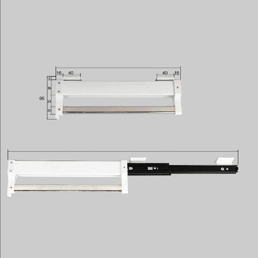 292mm Ajustable Barra para Colgar Ropa MAFAGE Barra para Colgar Ropa