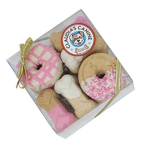 (Claudia'S Canine Cuisine Gift Assortment Dog Cookies, 7-Ounce, Pink Passion )
