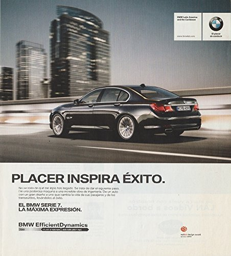 Series Inspira - 2011 BMW SERIE 7 SEDAN