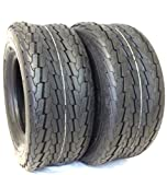 2 NEW - 20.5X8.00-10 10PR SU03 SUPERCARGO LOAD E HEAVY DUTY TRAILER TIRES