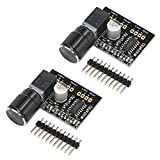 5v Audio Amplifier, DROK 2pcs Dual-channel 3W+3W DC 5V PAM8403 Mini Digital Stereo Amp Board with Potentiometer