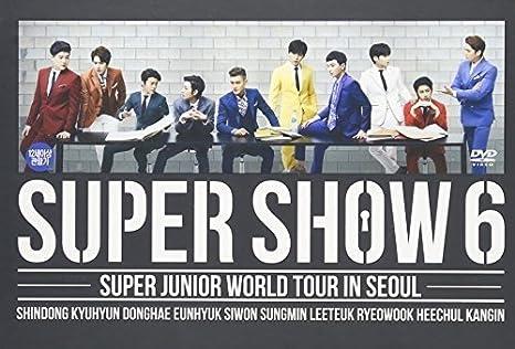 SUPER JUNIOR / SUPER SHOW 6: Amazon co uk: Super Junior: DVD & Blu-ray