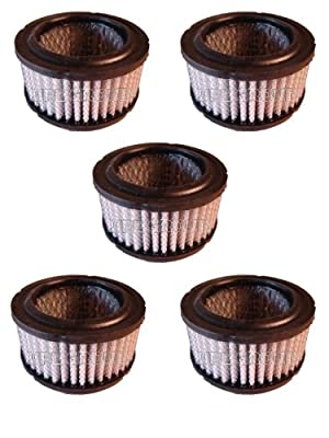 5 PACK New Filter Replacement rewashable Polyester element for air compressor REPLACES CAMPBELL HAUSFELD STO739-03AU STO739-03 CAHMPION P5050A GARDNER DENVER 2109994 QUINCY 110377E075 SAYLOR BEALL 6106 SULLAIR 243196