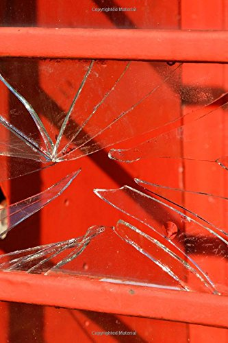 Broken Glass Red Window Journal: Take Notes, Write Down Memories in this 150 Page Lined Journal pdf