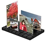 Umbra Cityscape 4-Opening Wood with Acrylic Photo Holders Frame Set