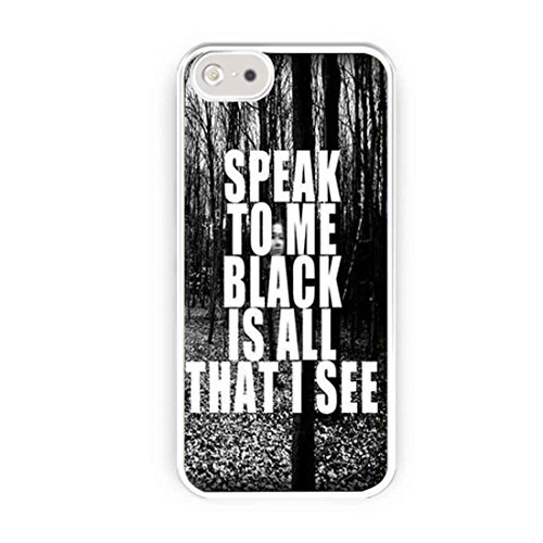 Asking Alexandria The Black Lyrics Speak Forest iPhone 5s Case, iPhone 5 Case
