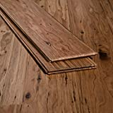 Ambient Bamboo - Eucalyptus Flooring Sample, Color: Malted Ale, Solid Strand Tongue and Groove
