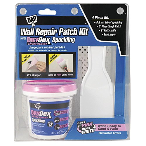 Drydex 8 oz. Wall Repair Patch Kit (6-Pack) (Repair Spackle Kit Wall)