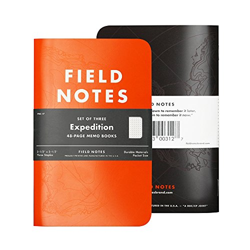 Field Notes Expedition 3Pk (Antarctic Expedition Cover)