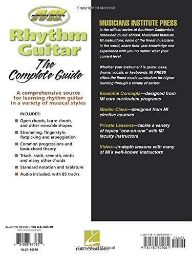 Amazon Rhythm Guitar Essential Concepts Series Essential