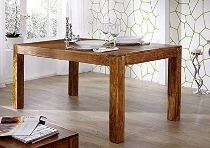 Arredo Ufficio Legno Massello : Mobili in legno massello acacia tavolo da pranzo 140x90 legno mobili
