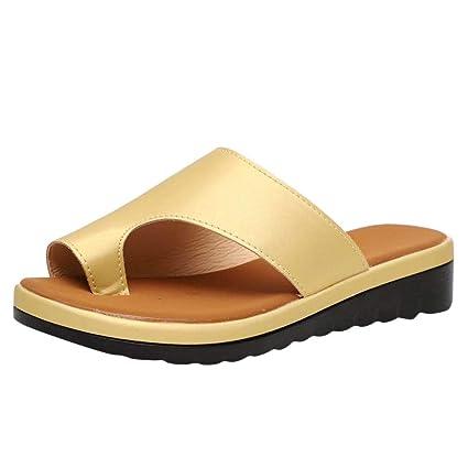 4d3ec89e89 Ladies Shoes on Sale Clearance Low Heels, Womens Fashion Flats Fluorescent  Color Open Toe Beach