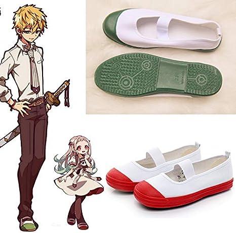 Hanako Kun Shoes Cosplay Costume Accessories Japanese Student Anime Prop PU