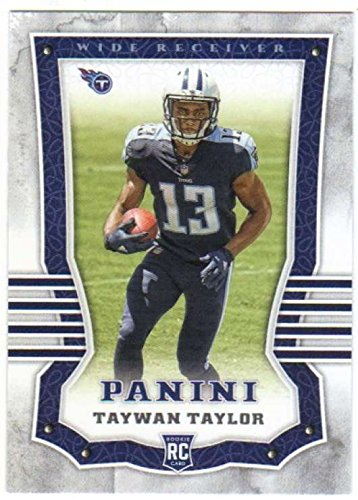 2017 Panini #165 Taywan Taylor Tennessee Titans Rookie Football Card
