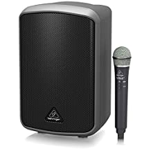 Behringer MPA100BT Complete Portable PA System with Bluetooth and Wireless Handheld Mic