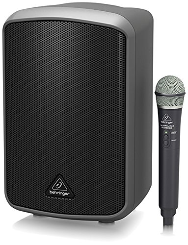 Behringer Europort MPA100BT All-in-One 100-W Speaker w Wireless Mic by Behringer