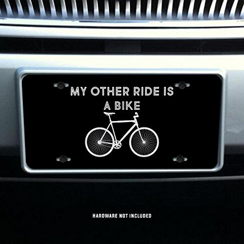 My Other Ride Is A Bike Vanity Front License Plate Tag KCE046 KCD