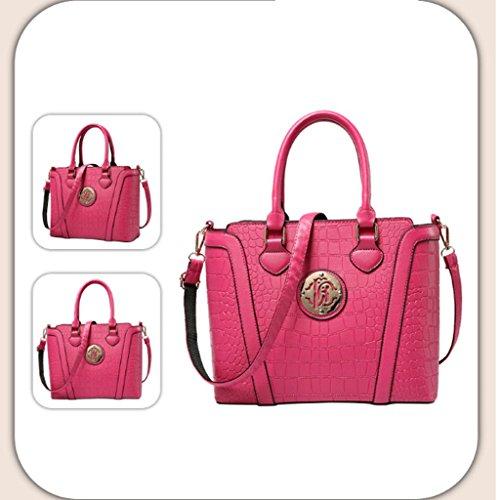 età Bianca Stati Colore degli tracolla e Europa la mezza tracolla donna Rose borse a da modello a coccodrillo nuove Le di Uniti moda borse Pink borsa borse borsa wSPq47gW