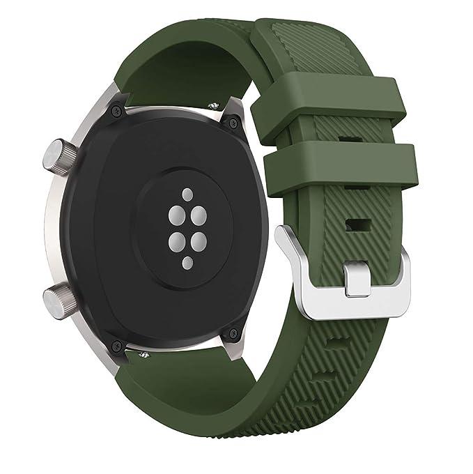 Correa de Silicona para Reloj Huawei GT/Samsung Galaxy Watch ...