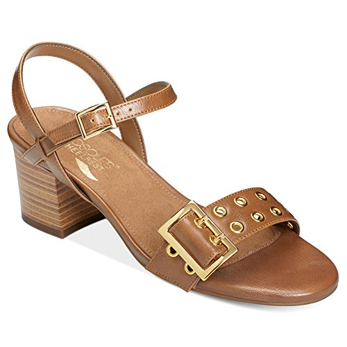 - Aerosoles Women's Mid Town Dress Sandal, Tan, 9 M US
