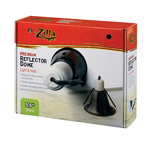Zilla Premium Reflector Dome, Black 5.5