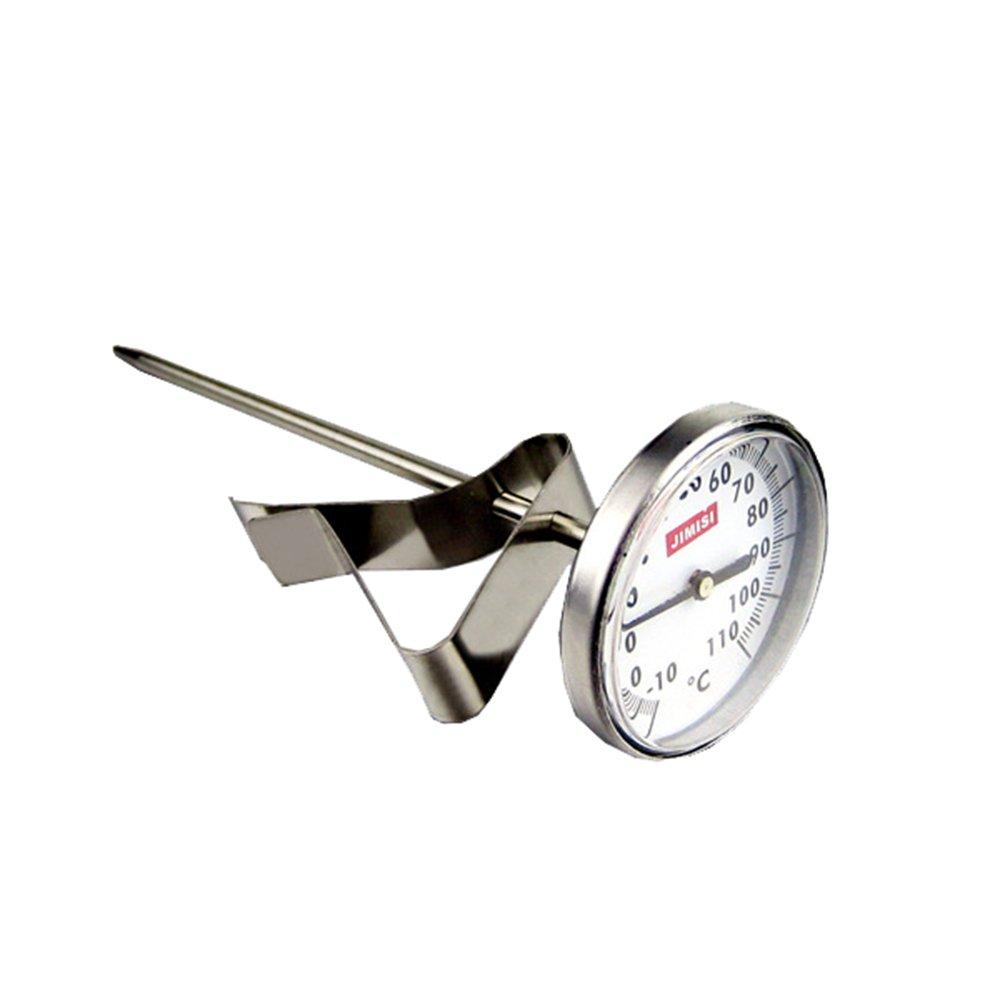ufengke® Acero Inoxidable Termómetro Para Alimentos Sonda Tipo Termómetro Para La Leche Y El Café Ufingo