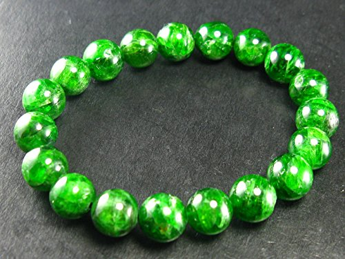 Chrome Diopside Bracelet From Russia - 7