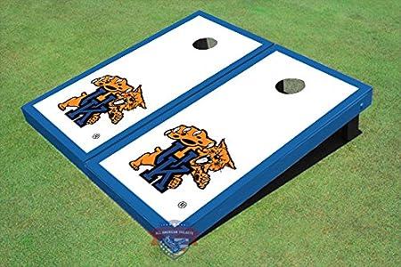 Meet ACA Rules! Handmade Kentucky Wildcatsprinted cornhole bags set of 8 bags