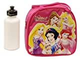 New Disney Princess Lunch Box Bag with Shoulder Strap and Water Bottle!! Pink