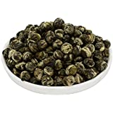 Mozentea Imperial Jasmine Dragon Pearls Green Tea Loose Leaf -Chinese Tea ((100G(3.5OZ)))
