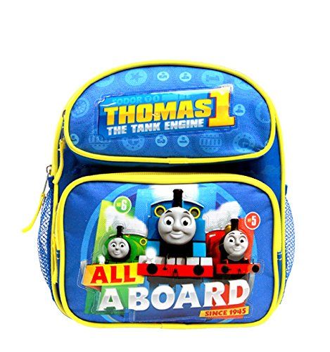 Hits Pack (Mini Backpack - Thomas The Tank Engine - All a Board Blue 10