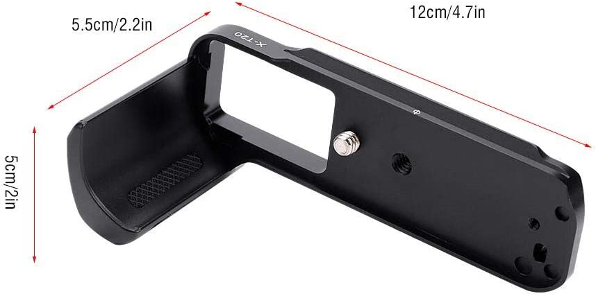 Replacement Neufday Vertical Alloy Camera Battery Grip Handle L Plate Bracket for FUJIFILM X-T20//X-T10 Cameras