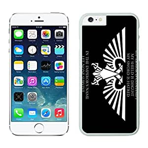 NEW DIY Unique Designed Case For iphone 6 plus Warhammer 40K (2) iphone 6 plus White 5.5 TPU inch Phone Case 433