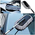 Auto Hub Long Extendable Microfiber Duster Vehicle Washing Cleaning Duster