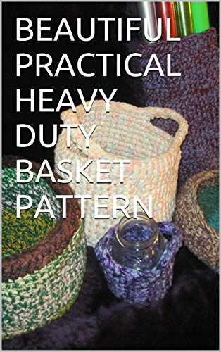 Beautiful Practical Heavy Duty Basket Pattern Four Different Size