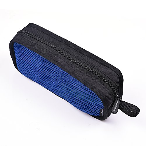 Case Star Travel Organizer Carry Case Electronics for Laptop GOgroove FlexSMART Bluetooth Transmitter Adaptor HDMI VGA Line Cable OTG ()