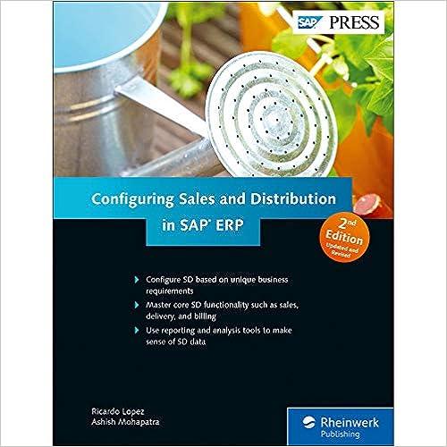 Amazon com: SAP Sales and Distribution (SAP SD